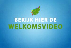 Bekijk hier de welkomsvideo