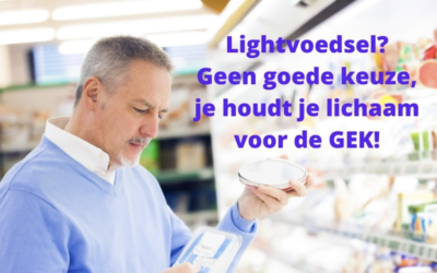 Waarom light- vetten, light- voedsel en light- drankjes je gezondheid ondermijnen