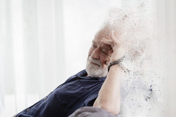 shutterstock 1592756686 Elder with Alzheimer and Dementia disease loss their mild memory and family concept. e1632293911371